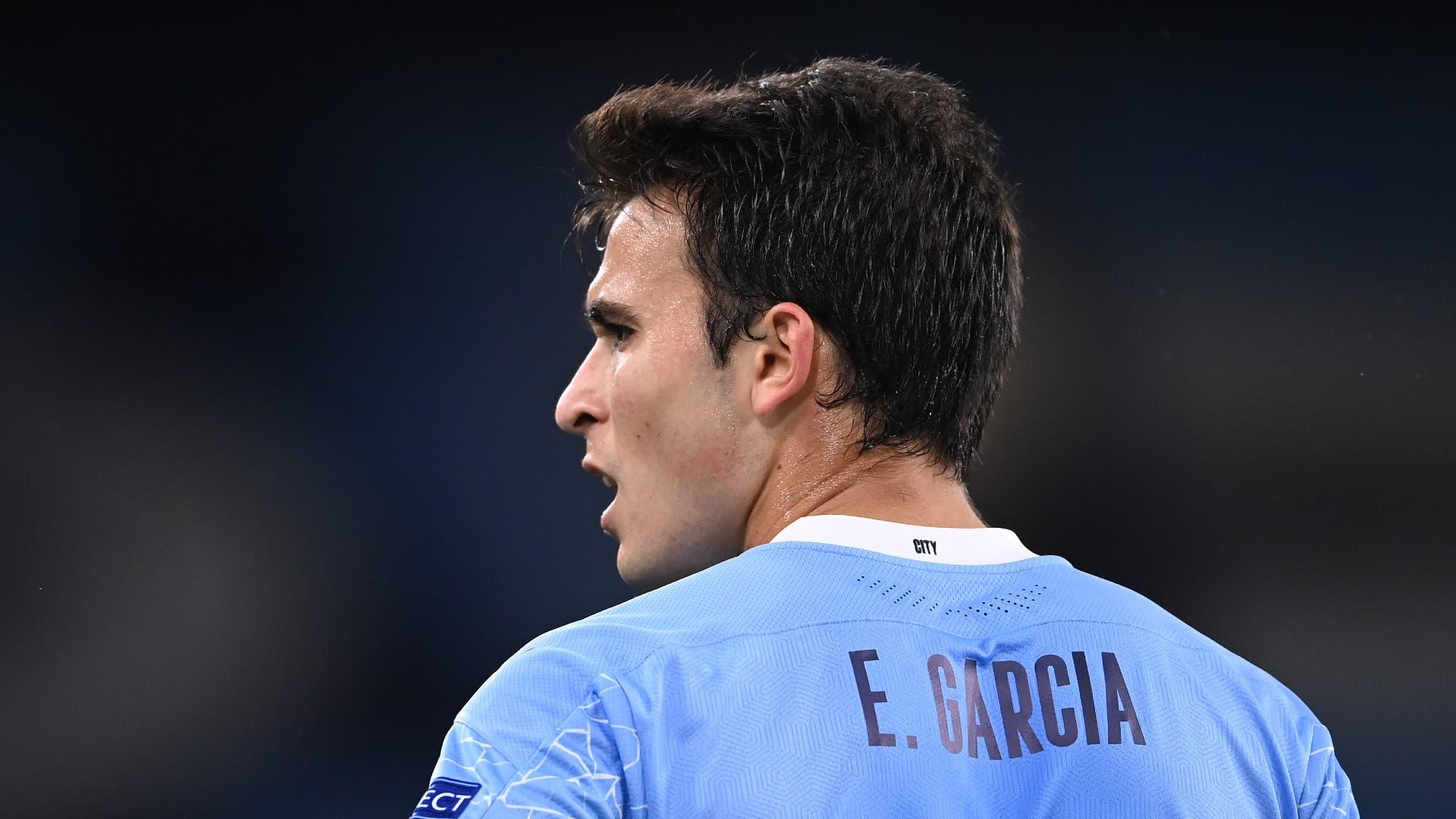 غوارديولا يؤكد انتقال غارسيا إلى برشلونة