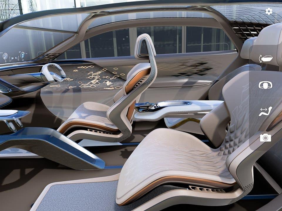BENTLEY تطوّر تطبيقاً جديداً لاستعراض سيارتها النموذجيةEXP 100 GT بأسلوب غامر بالواقع الافتراضي المعزّز (AR)