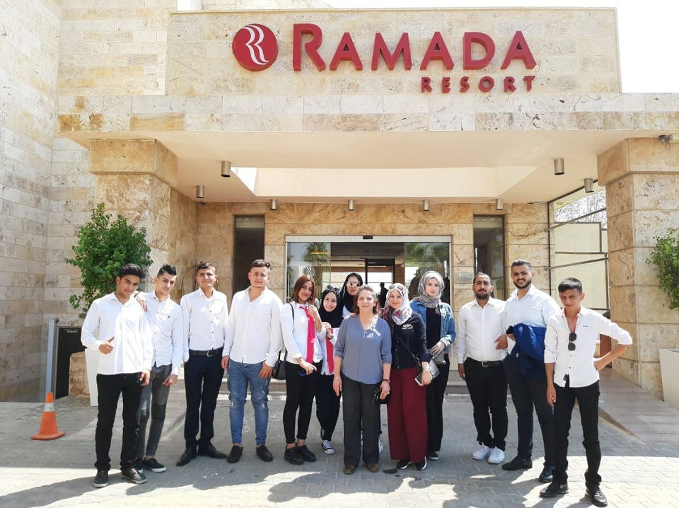 Ramada Resort by Wyndham Dead Sea Hosts Educational Tour for Yarmouk University Students