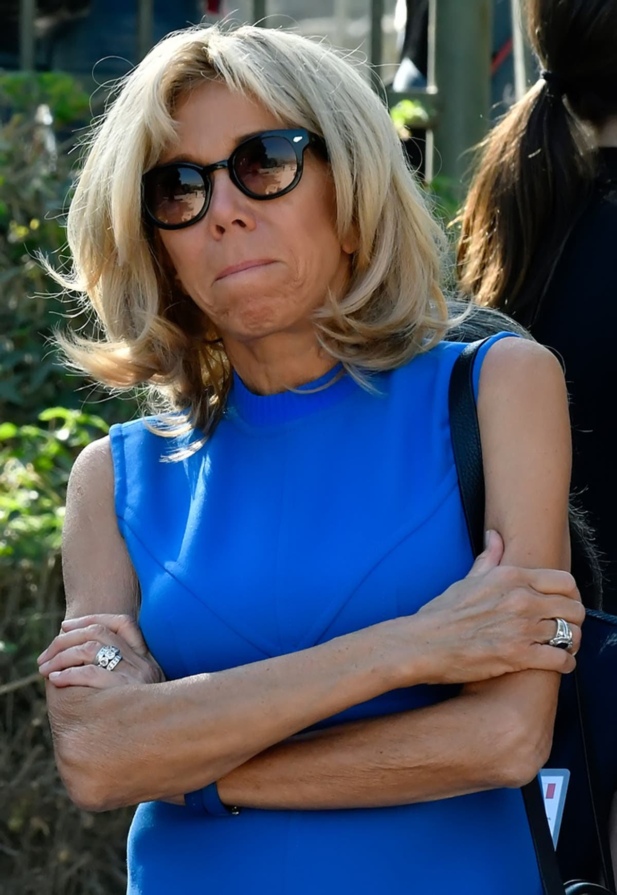 Brigitte Macron Steps Out For The First Time Since Facial Surgery Al Bawaba
