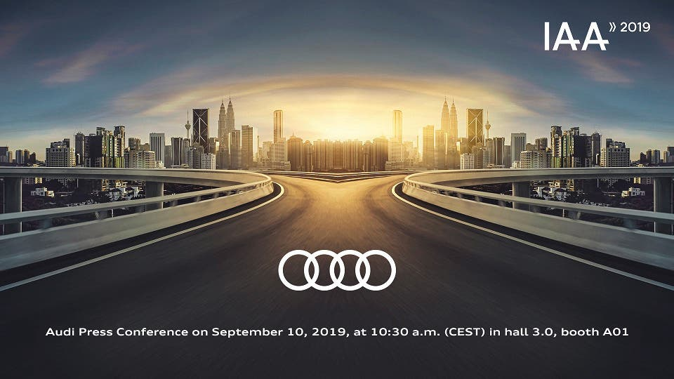 Audi at the IAA Frankfurt 2019