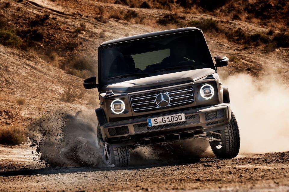 Mercedes-Benz Oman Keeps the Legendary G-Class Ready for ...