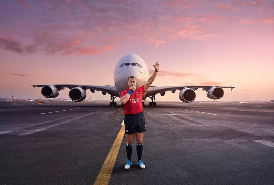 Emirates Kicks off Rugby World Cup 2019 With Referee Nigel Owens