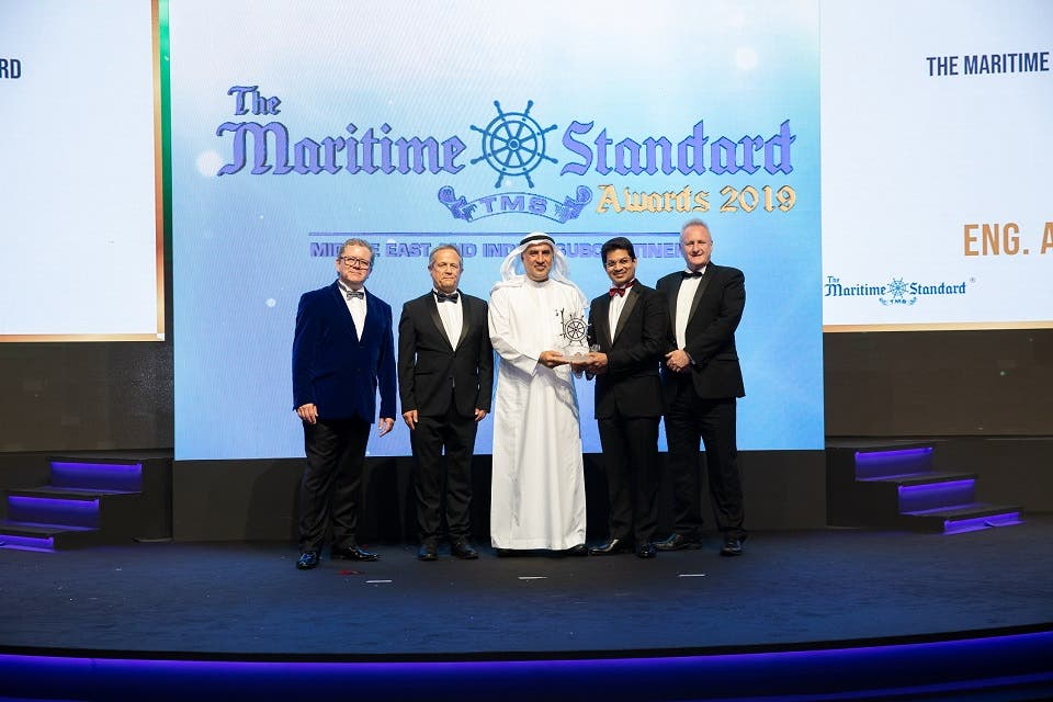 Bahri's Commitment to Excellence Recognized With Three Titles at the Maritime Standard Awards 2019