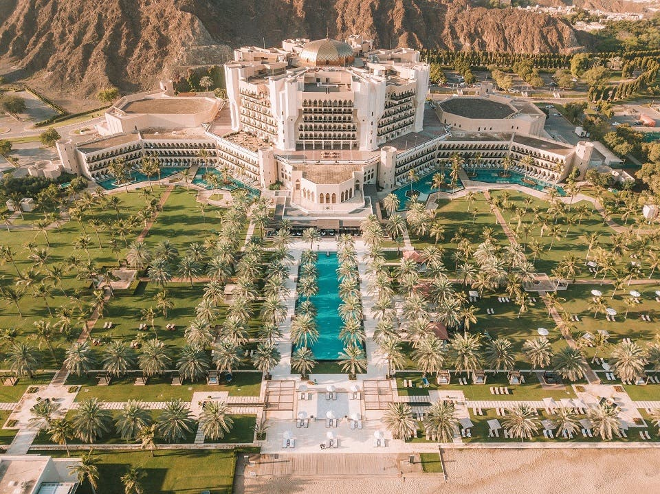 Al Bustan Palace, a Ritz-Carlton Hotel Recognized Among the Top 15 Hotels in the Middle East at Condé Nast Traveler's 2019 Readers' Choice Award