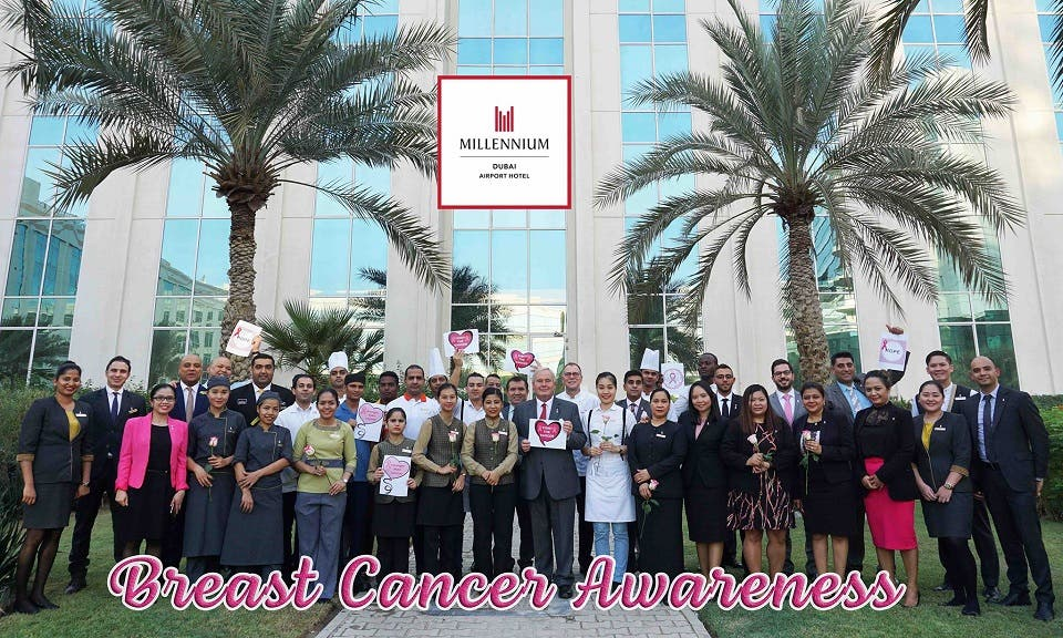 Millennium Airport Hotel Dubai to Support Breast Cancer Awareness Month With 'Think Pink, Wear Pink' Campaign