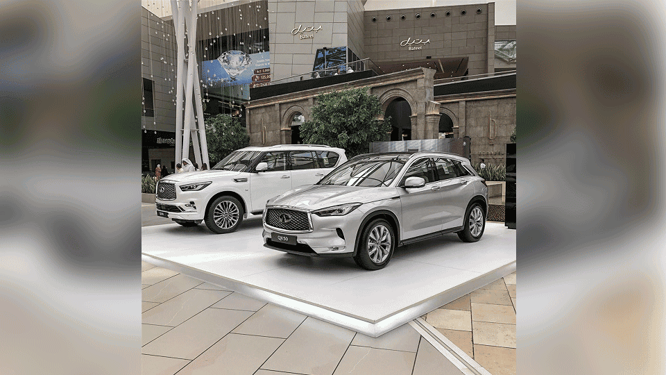 Infiniti Al Babtain Amazed Visitors at the Avenues Motor Show