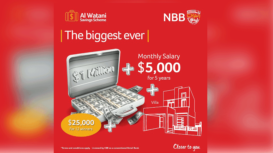 NBB Surpasses Expectations as it Reveals 12 Additional Winning Chances for its 'Dream Prize'