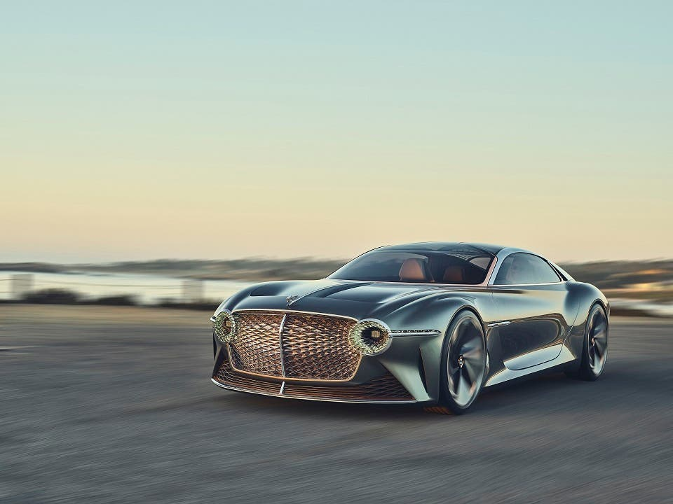 Bentley Exp 100 GT Working in Partnership for a Future of Sustainable Luxury Mobility