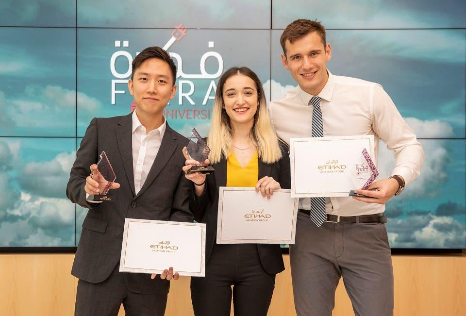 Students From NYU Abu Dhabi Win Etihad's Fikra University Competition