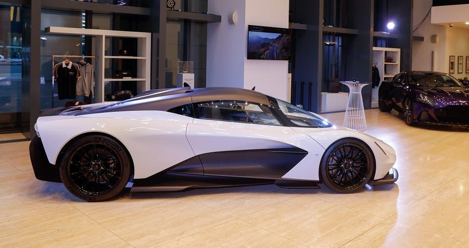 Aston Martin Valhalla Makes UAE Premiere