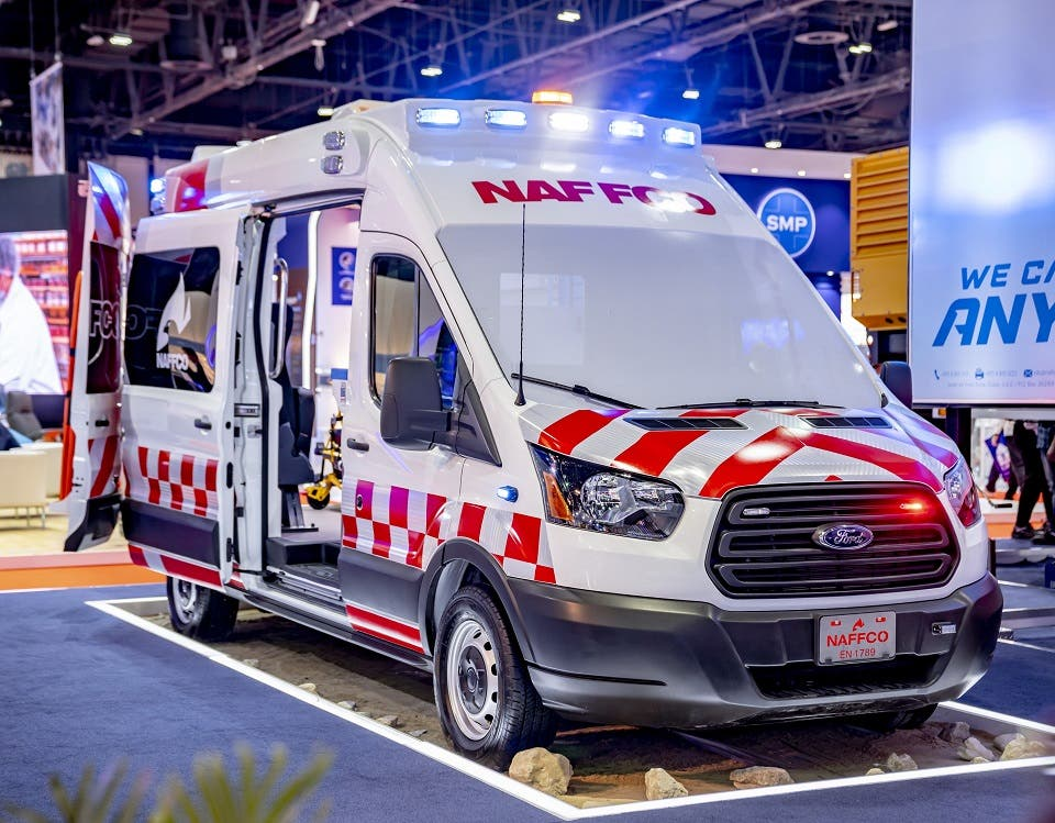 Ford Transit Remains Vehicle of Choice for Middle East Ambulance Converters and Operators