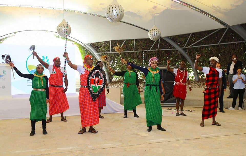 حديقة القرآن النباتية التابعة لمؤسسة قطر تُطلق حديقة الأشجار الأفريقية الأولى في قطر