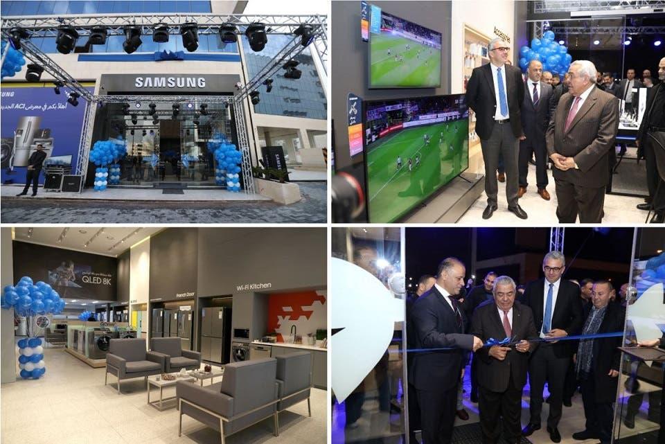 شركة سامسونج إلكترونيكس المشرق العربي تعزز شبكة معارضها بافتتاح معرض لها في شارع مكة