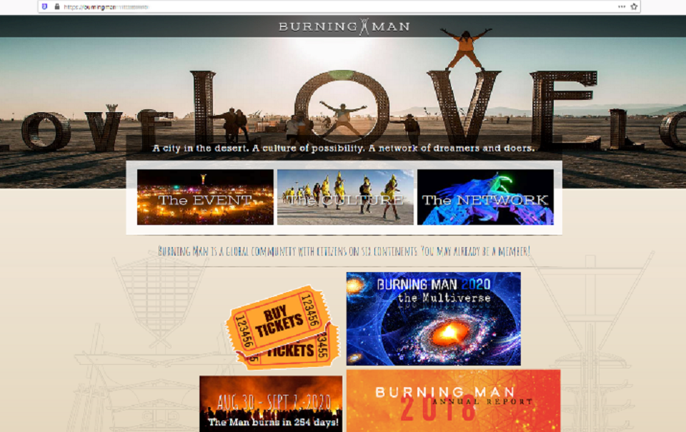 Burners Beware: Fake Burning Man Tickets Now on Sale for a Few Hundred Dollars