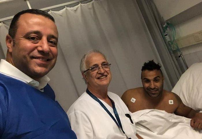 بعد خضوعه للجراحة في بلجيكا: أحمد فهمي يكشف عن وضعه الصحي