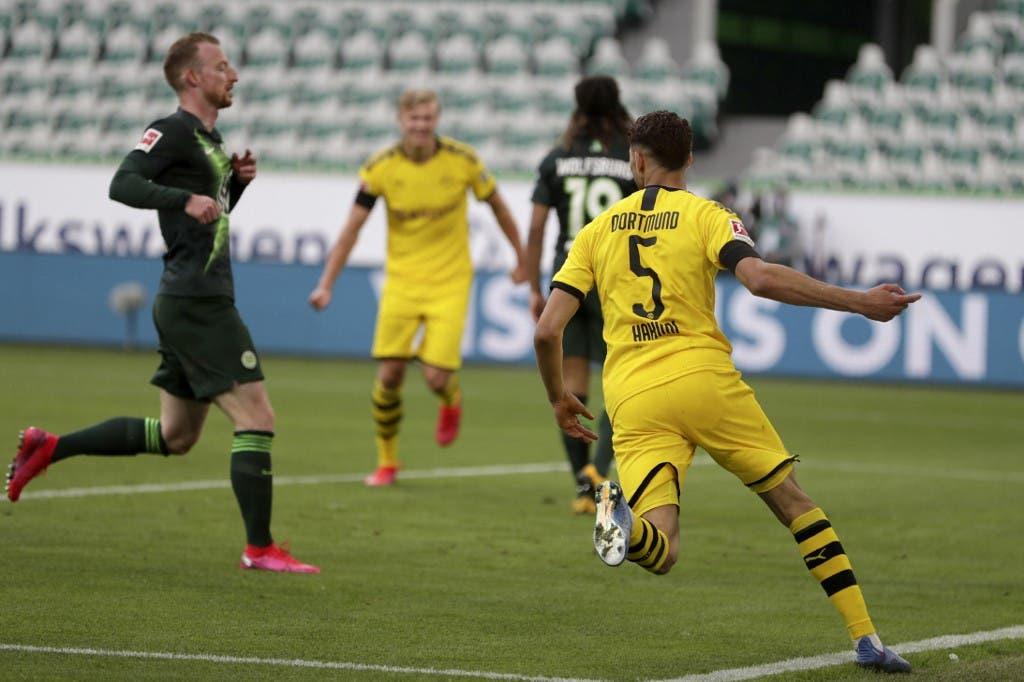 Wolfsburg 0-2 Dortmund: Guerreiro, Hakimi Secure Win before Der Klassiker