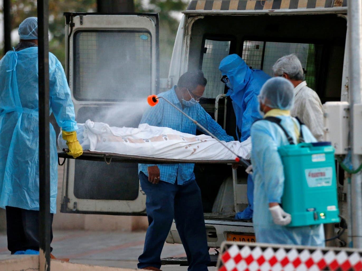 الهند.. 217 وفاة و 9 آلاف إصابة جديدة بكورونا