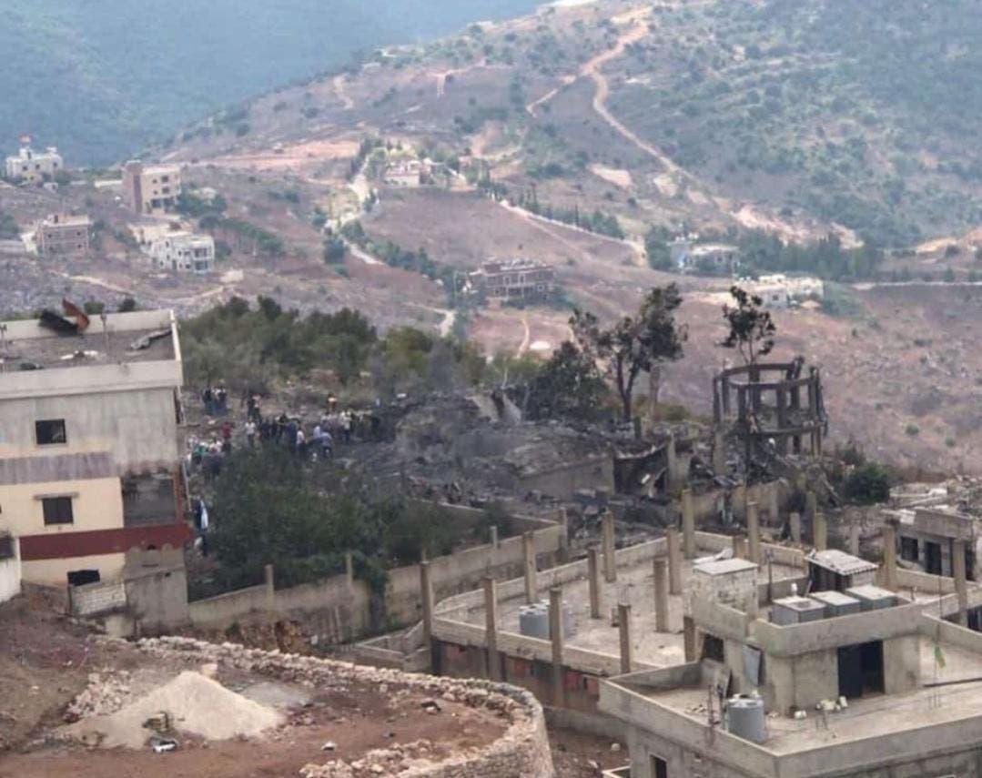 انفجار مخزن اسلحة تابع لحزب الله وفرار كبير للسكان
