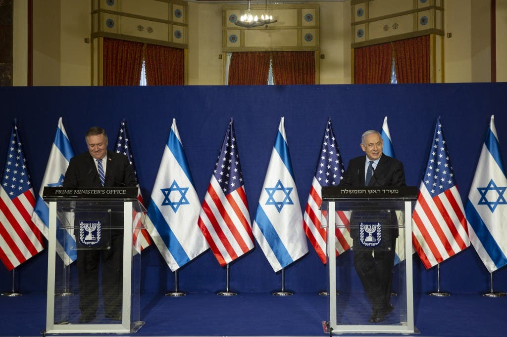 Mike Pompeo Meets Netanyahu in Israel, Calls BDS 'Cancer'