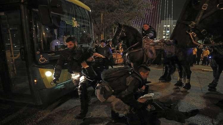 مواجهات بين الشرطة الاسرائيلية ومتشددين يهود