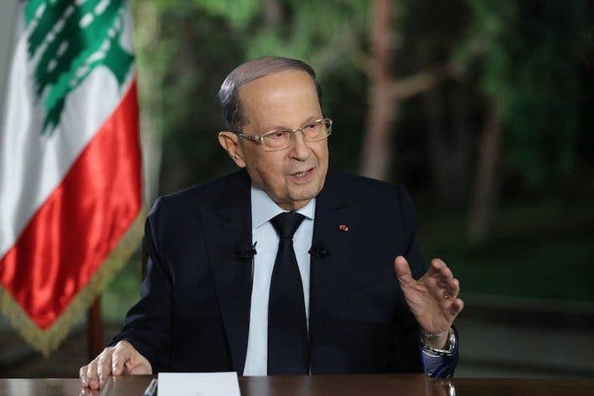 Lebanon: Aoun Mulls Over The Sea Area Disputed With Israel