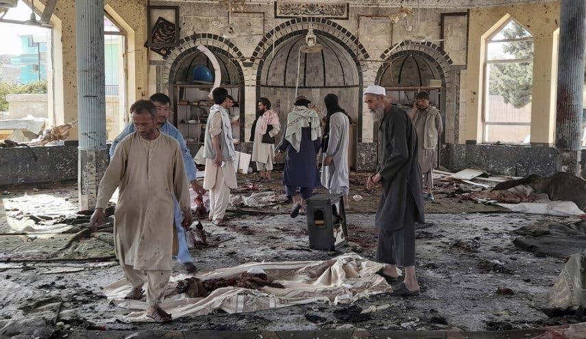 عاجل: داعش يتبنى رسميا هجوم مسجد قندهار وارتفاع عدد القتلى