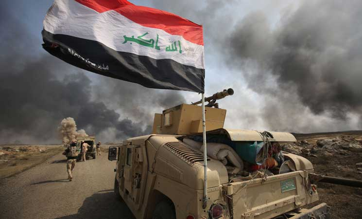 انطلاق عملية عسكرية لتطهير صحراء العراق حتى حدود السعودية من  داعش    البوابة