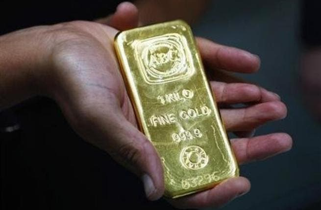 Spot gold was down 4 per cent at $1,296.60 an ounce at 1454 GMT