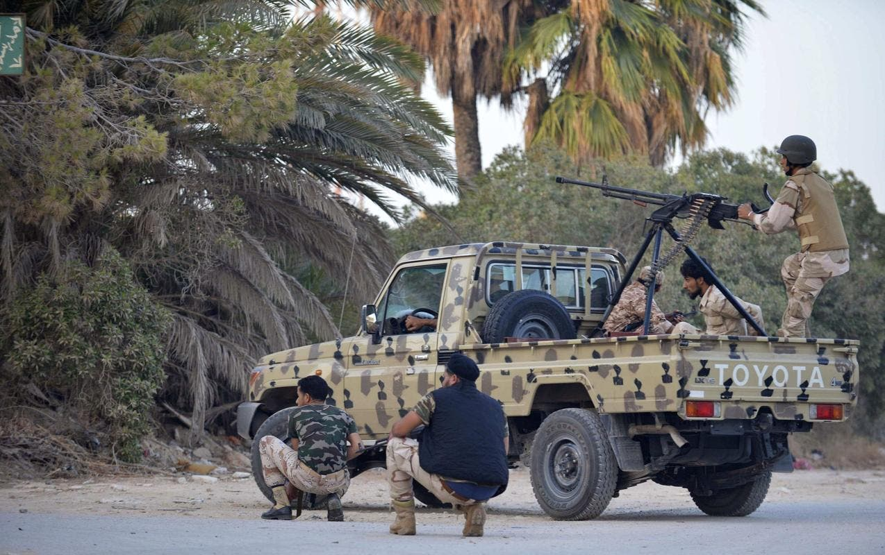 Libyan forces are struggling to eradicate extremist militia groups that are responsible for many violent attacks across the country. (AFP/File)