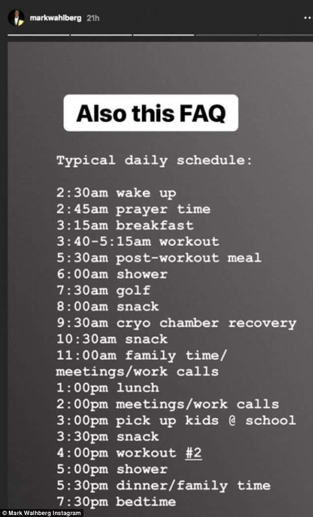 Here is Why Mark Wahlberg Wakes up at 2:30 AM Daily!   Al Bawaba