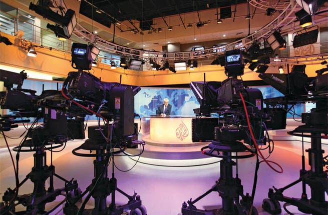 The Gulf state developed a powerful media empire through Al-Jazeera, the first pan-Arab satellite channel which also broadcasts in English. An American launch is just around the corner.