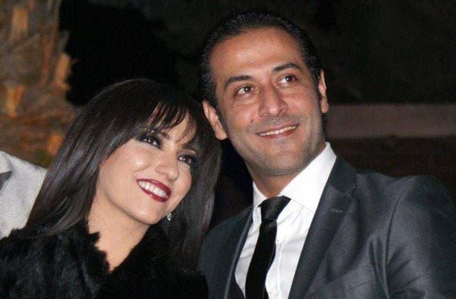 Happy family no more! Amal Arafa and ex-hubby Abdel Minem Amairi (Image: Facebook)