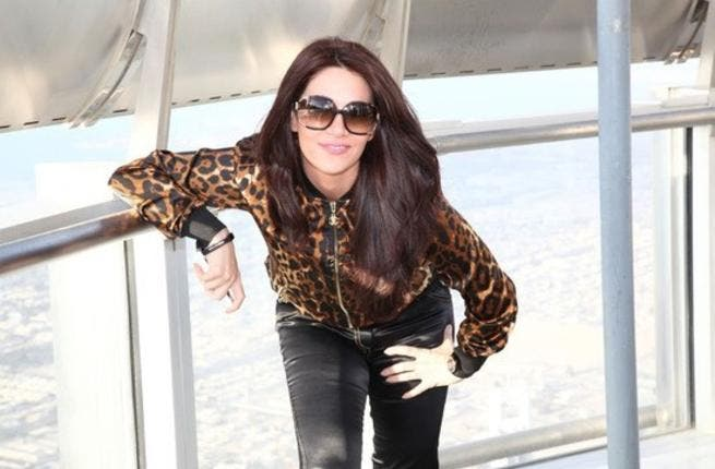 Diana Haddad is single but not ready to mingle just yet!