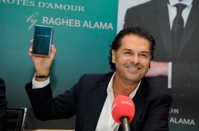 Ragheb Alama goes on the promotion trail.
