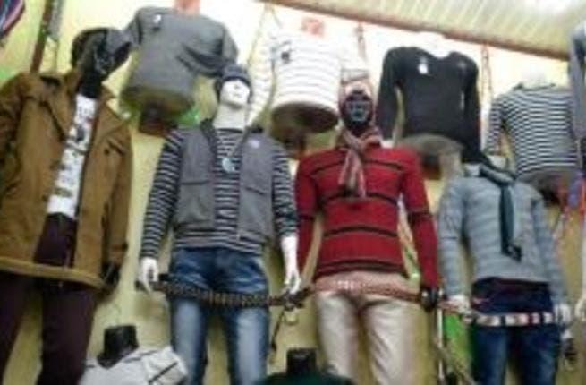 Yemen's men go gaga for good clothes shops.