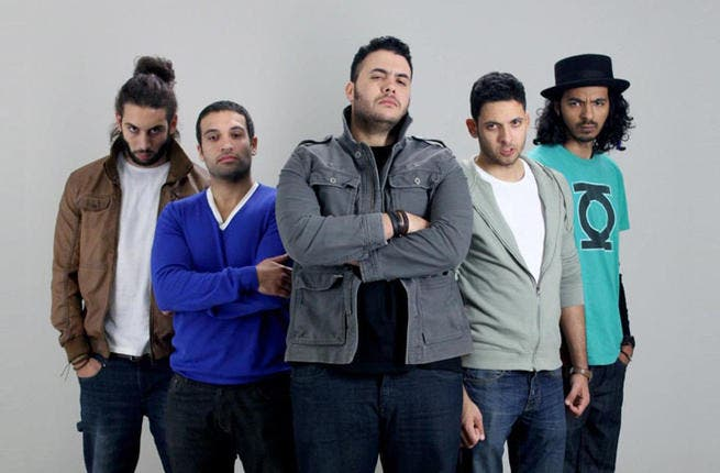 The popular band Cairokee rocked the night at the Presidential Palace
