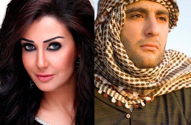 A difference in opinion: Ghada Abdel Raziq and Ahmed El Sakka. (Image: Facebook)
