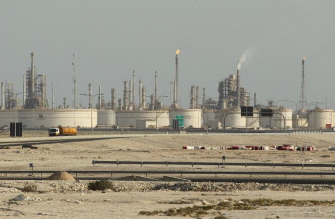 A petroleum refinery of Qatar Petroleum stands on October 26, 2011 near Umm Sa'id, Qatar. Qatar is ranked 16th in countries with the biggest oil reserves and 3rd in natural gas reserves. (Photo by Sean Gallup/Getty Images)