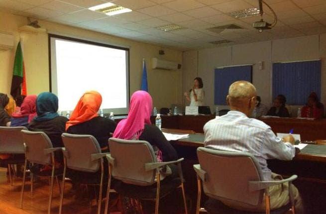 Social media seminar in Sudan