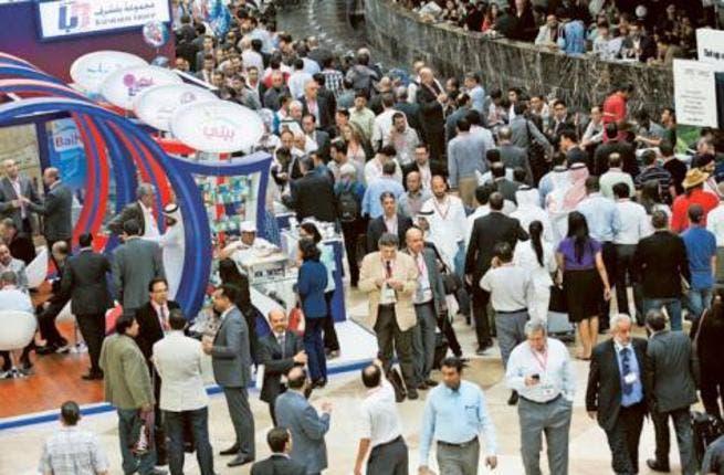Visitors at the Dubai World Trade Centre (Gulf News Photo)