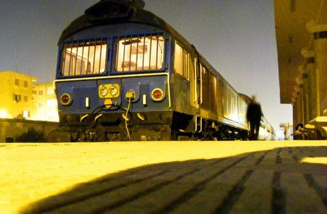 A photo of an old train in Egypt