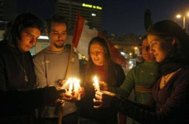 Lebanon wages a protest on power cuts