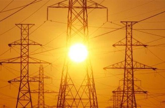 Power pylons in Iraq. Image source: Iraq Businessnews