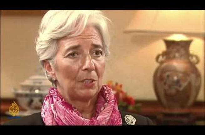 Christine Lagarde in the Middle East