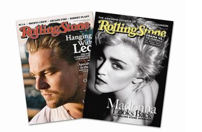 Rolling Stone Middle East magazine