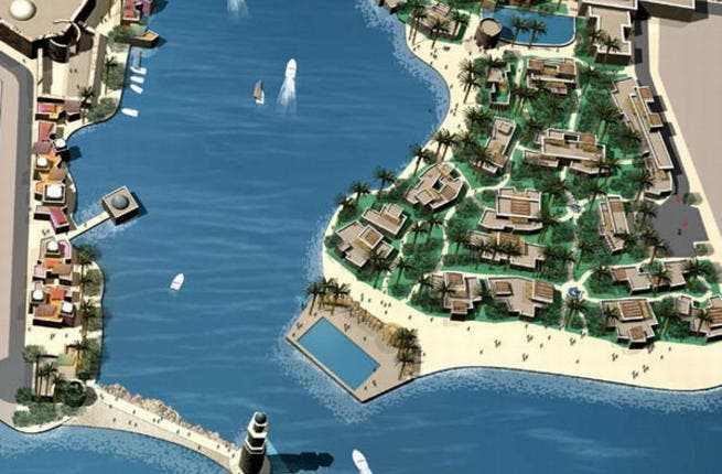 Saraya Aqaba, a large-scale real estate tourism project with an initial capitalization of JD172 million (US$242 million)