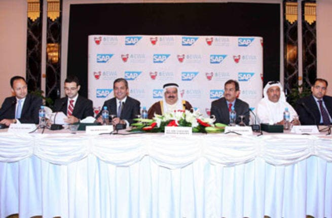 Bahrain Electricity and Water Authority during a press conference announcing the launch of the project