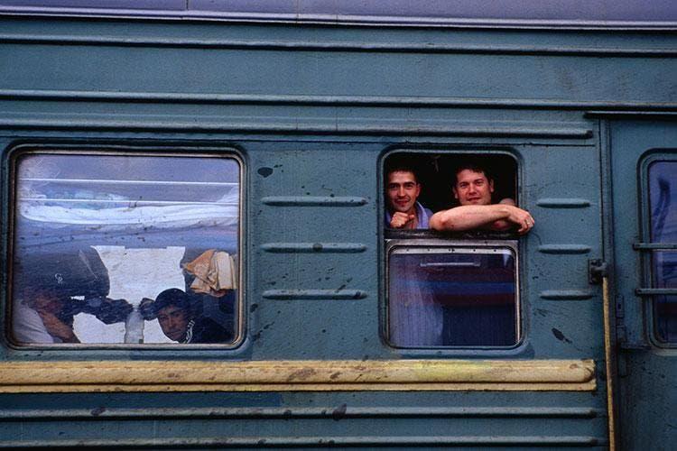The Trans-Siberian Railway (Instagram)