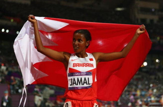 Bahrain: Maryam Yusuf Jamal made history for her country at London 2012, winning their first ever medal at the Olympics: a bronze in the 1500. Unsurprisingly this middle distance runner has Ethiopian origins.